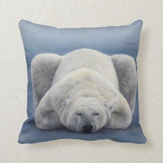 POLAR BEAR SLEEPING PILLOW CUSHION