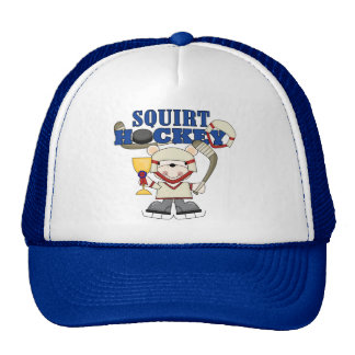 Polar Bear Squirt Hockey Tshirts and Gifts Cap