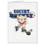 Polar  Bear Squirt Hockey Tshirts and Gifts Cards