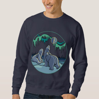 Polar Bear Sweatshirt Wildlife Art Unisex Shirt