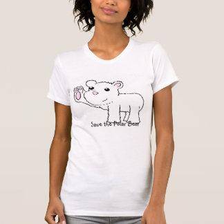 Polar Bear T Shirt - Save the Polar Bear