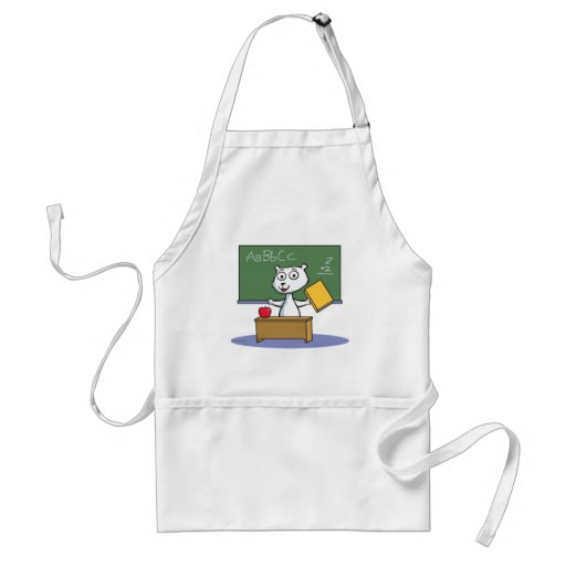 Polar Bear Teacher Aprons