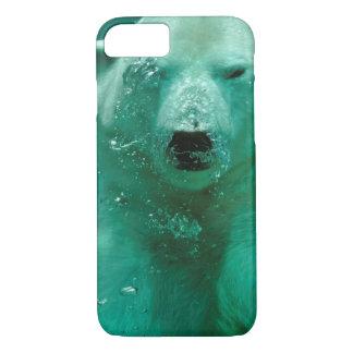 Polar bear underwater iPhone 7 case