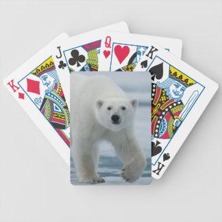 Polar Bear, Ursus Maritimus, Adult Bicycle Playing Cards