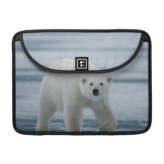 Polar Bear, Ursus Maritimus, Adult Sleeve For MacBooks