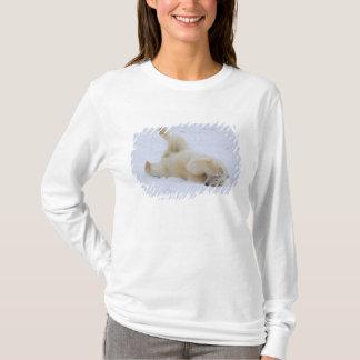 polar bear, Ursus maritimus, cub rolling 2 T-Shirt