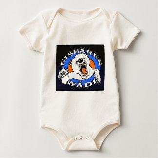 polar bear waedi.gif baby bodysuit