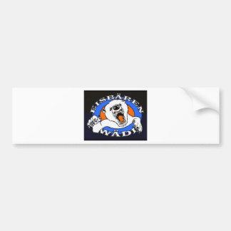 polar bear waedi.gif bumper sticker