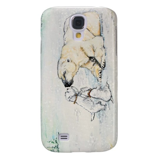 Polar Bear Westies Galaxy S4 Case
