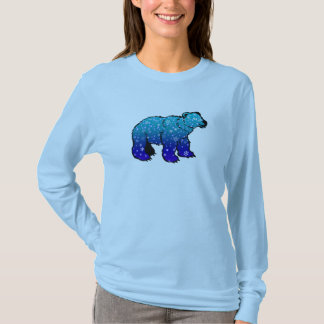 Polar Bear with Snowflakes Shirt