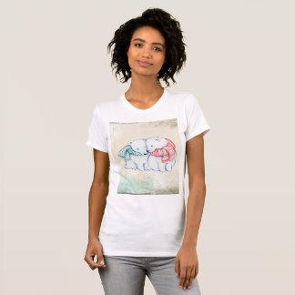 Polar Bear Women's American Apparel Fine Jersey T-Shirt