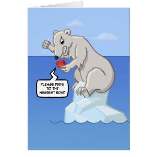 Polar Bearings Meltdown Card