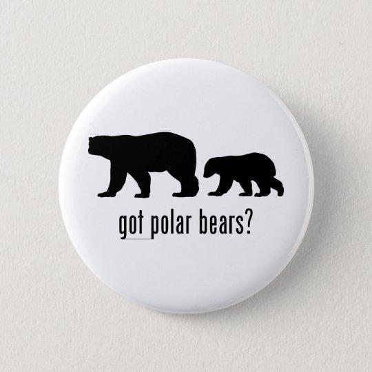 Polar Bears 6 Cm Round Badge