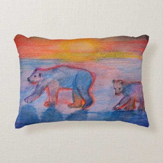 Polar Bears Accent cushion