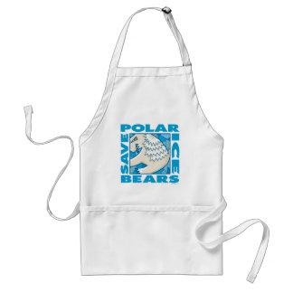 Polar Bears Adult Apron