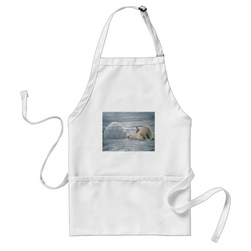 Polar-bears Apron