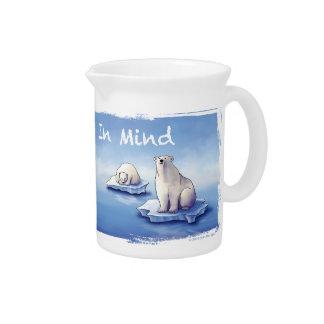 Polar Bears – Bear Us In Mind Beverage Pitchers