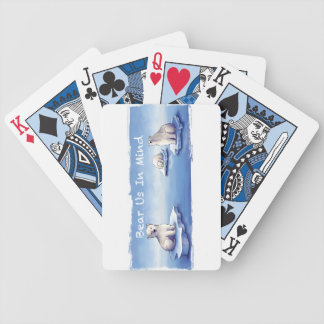 Polar Bears – Bear Us In Mind Bicycle Playing Cards