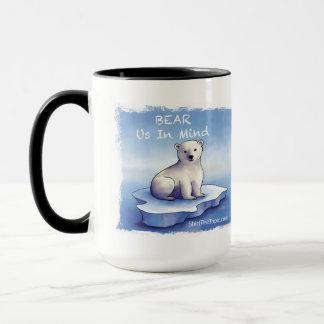 Polar Bears – Bear Us in Mind Mug