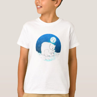 Polar Bears Being Cute Ringer T-Shirt
