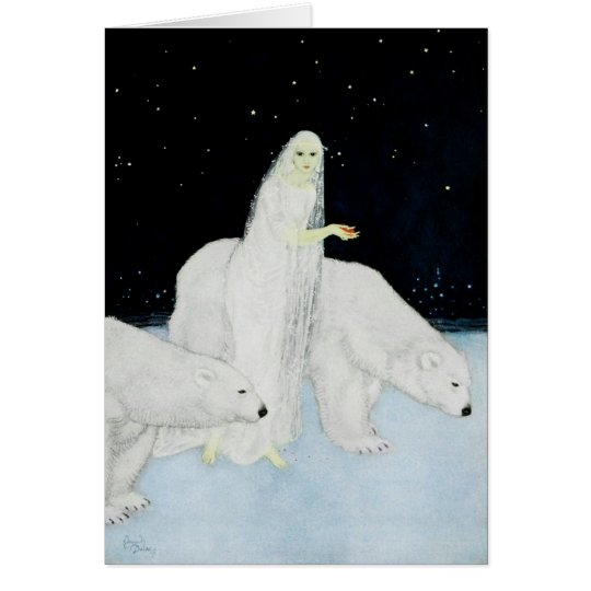 Polar Bears Christmas Holiday Cards Edmund Dulac