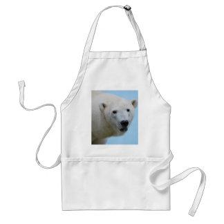 Polar bears profile standard apron