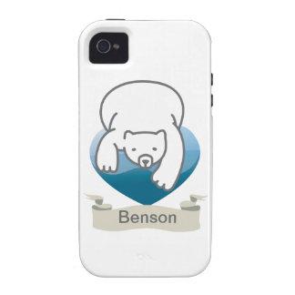 Polar Heart iPhone 4/4S Case