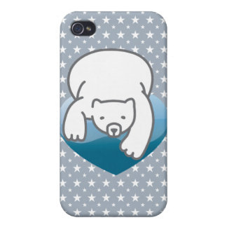 Polar Heart iPhone 4/4S Cover