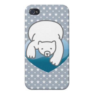 Polar Heart iPhone 4 Cover