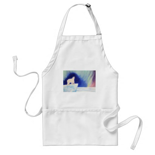 Polar Lights Apron