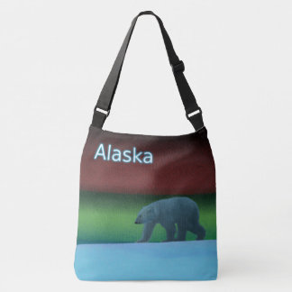 Polar Lights Polar Bear - Alaska Crossbody Bag