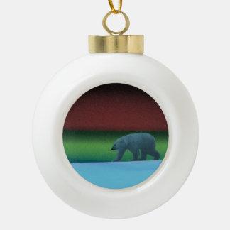 Polar Lights Polar Bear Ornaments