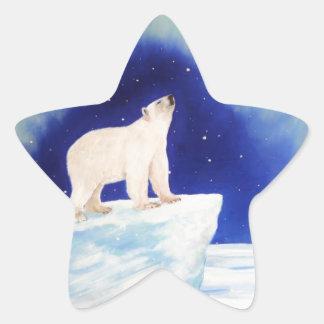 Polar Lights Star Sticker