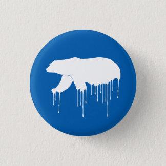 Polar Melt Down 3 Cm Round Badge
