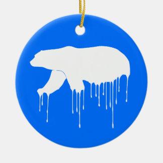 Polar Melt Down Christmas Ornament