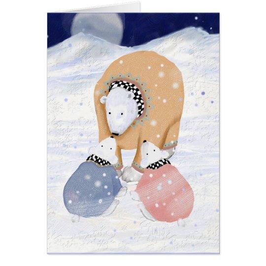 Polar Mum Card