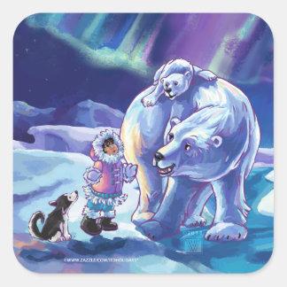 Polar Pals Sticker
