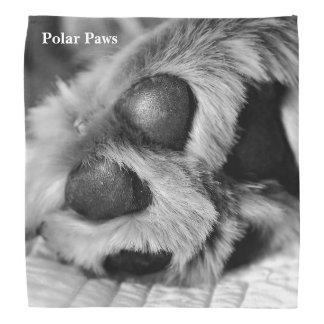 Polar Paws Head Kerchief