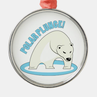 Polar Plunge! Christmas Ornament