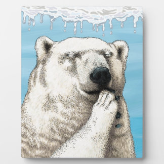 Polar prayer plaque
