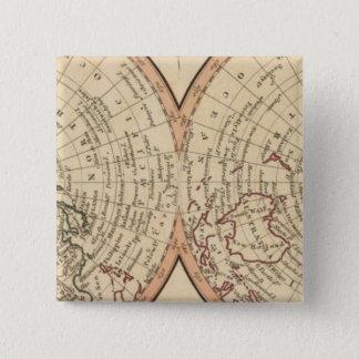 Polar Regions 2 15 Cm Square Badge