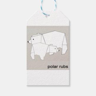 polar rubs gift tags