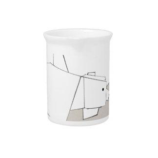 polar rubs pitcher