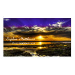Polarian Sunset Pack Of Standard Business Cards