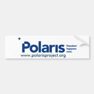 Polaris Bumper Sticker Car Bumper Sticker