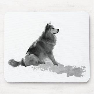 Polaris the Eskimo Dog Mousepad