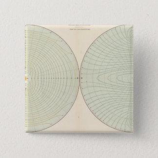 Polarization atmosphere 15 cm square badge