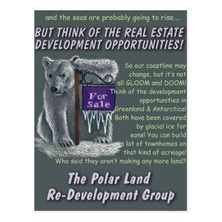Polarland Redevelopment Postcard