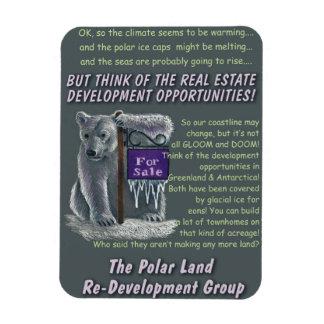 Polarland Redevelopment Rectangular Photo Magnet