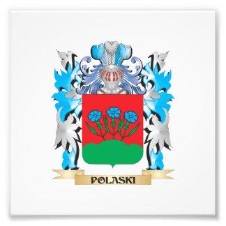 Polaski Coat of Arms - Family Crest Photograph